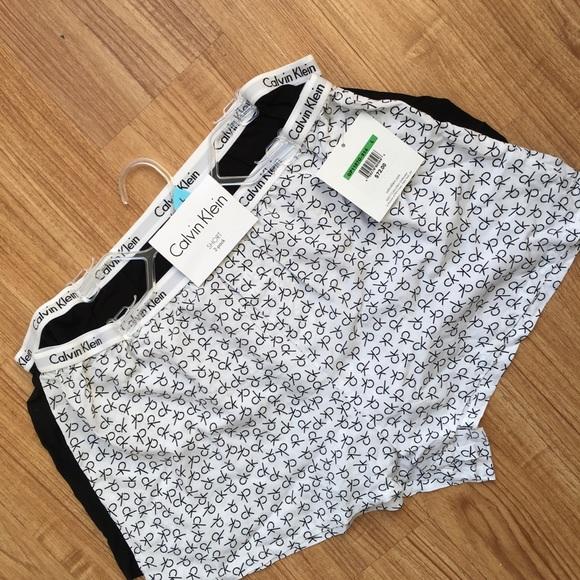 9dd0ed421 Calvin Klein Carousel Boy Short Pajamas NWT